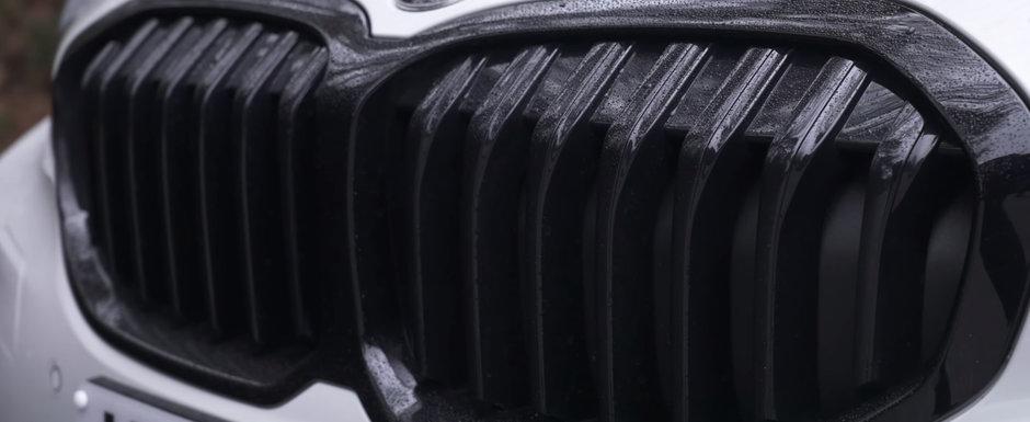 "A testat, in sfarsit, primul hot-hatch cu tractiune fata din istoria BMW. ""Arata de parca ar avea mustata"""