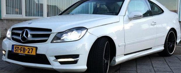 A tot schimbat una-alta la vechiul sau Mercedes, masina germana aducand acum extrem de mult cu noul model