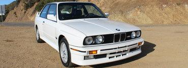 A tras potul cel mare. Cat a luat pe acest BMW M3 din '89