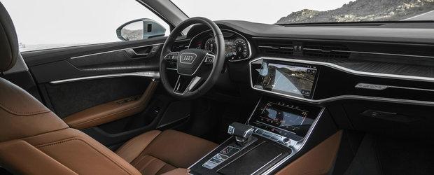 A trecut vremea butoanelor. Concurentul lui BMW Seria 5 si Mercedes E-Class mizeaza pe doua ecrane tactile