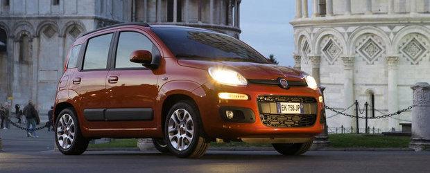 A treia generatie Fiat Panda ajunge in Romania