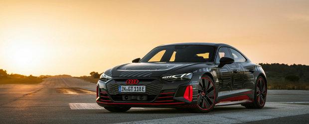 A venit confirmarea oficiala. Noua electrica de la Audi are 2 motoare, 600 CP si 400 km autonomie