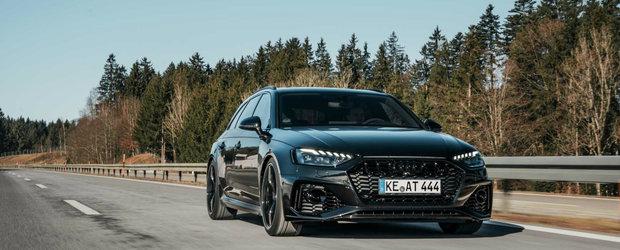 A venit si randul lui. Nemtii de la ABT au finalizat pachetul de tuning pentru Audi RS4 Avant facelift
