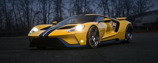 A vrut jante din aliaj militar pentru noul sau Ford GT. Ce zici de cum arata acum supercarul american?