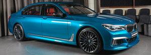 A vrut sa-i lase pe toti cu gura cascata, asa ca si-a comandat limuzina V12 intr-un albastru ca... noul M2 Coupe. FOTO