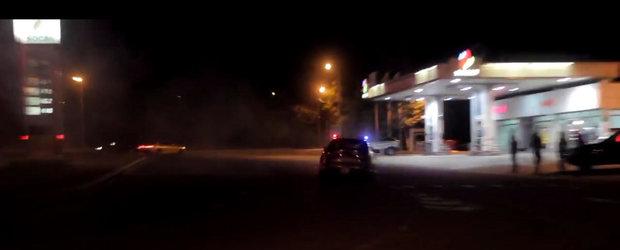 A vrut sa se dea mare cu BMWul lui de 730 CP, insa a fost oprit imediat de un echipaj de politie