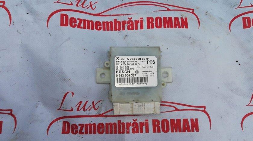 A2049009201 calculator senzori parcare Mercedes C Class W204 motor 2.2cdi om651