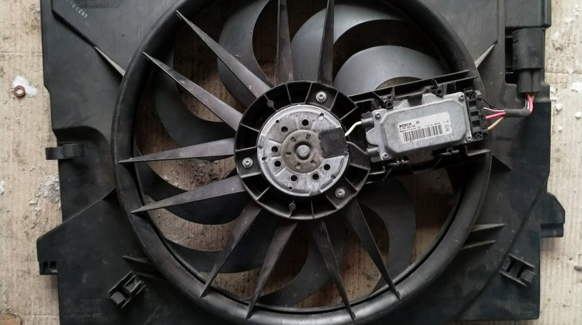 A2115002193 Electroventilator Mercedes-Benz A2115050855 CLS C219 E W211 S211 Bosch 1137328229