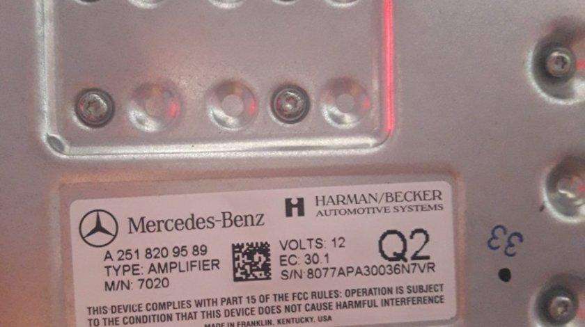 A2518209589 Harman Becker mercedes ml164 r class w251 gl amplificator 320 350 280 w164 kardon