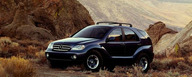 AAVision, conceptul care a pus Mercedes pe harta SUV-urilor de lux, a fost lansat in urma cu 25 de ani