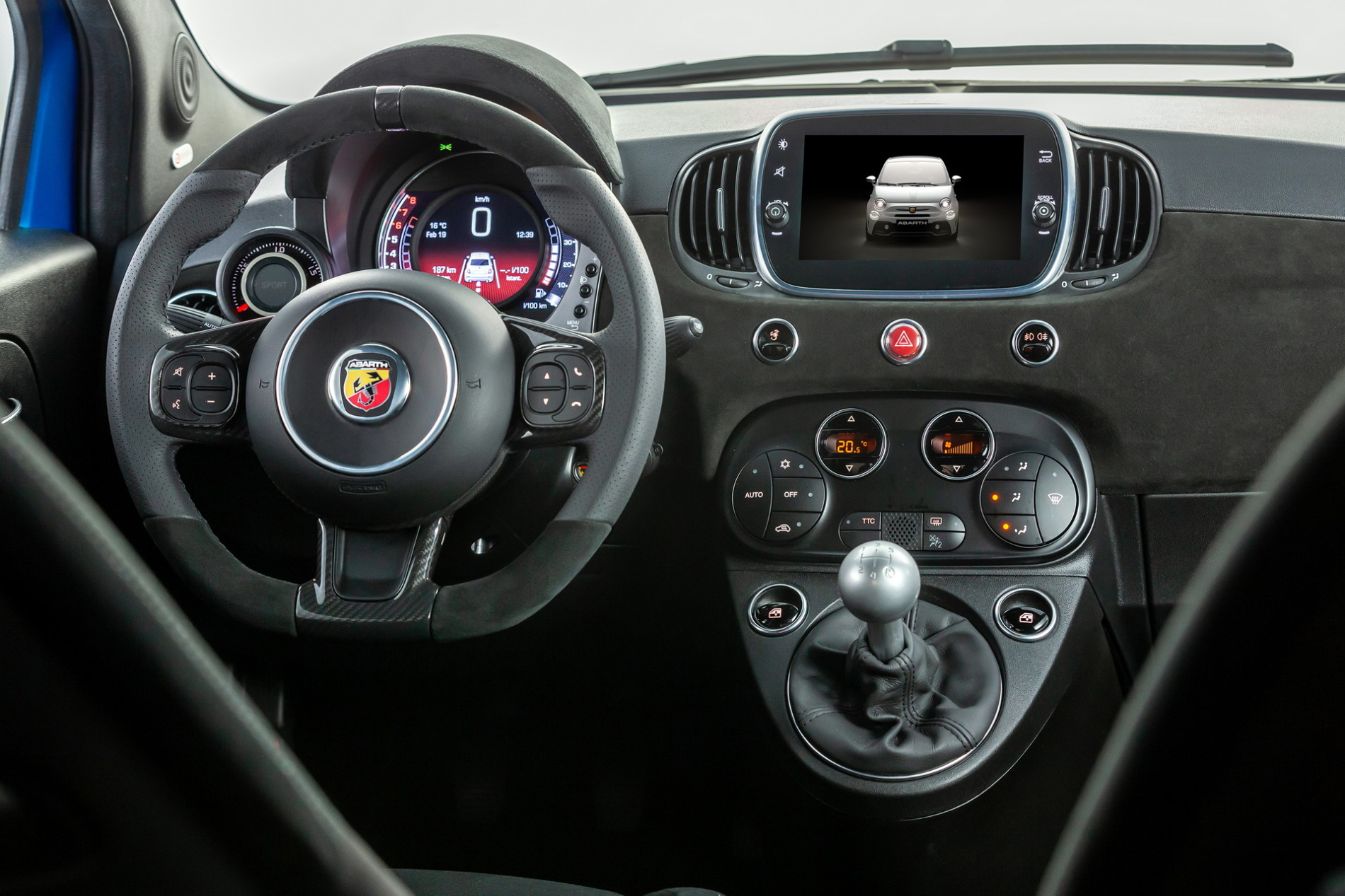 Abarth 595 facelift - Abarth 595 facelift