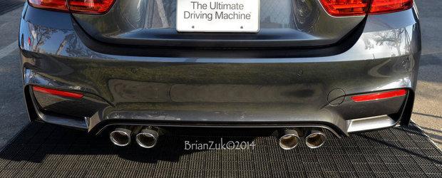Absolut dezamagitor: Asa suna evacuarea noului BMW M4 Coupe!