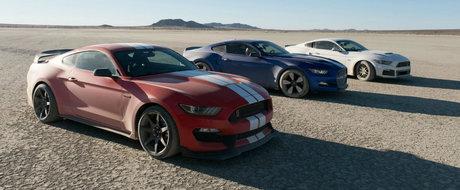 Absolut tot ce trebuie sa stii despre Mustang-urile din deschiderea show-ului The Grand Tour.