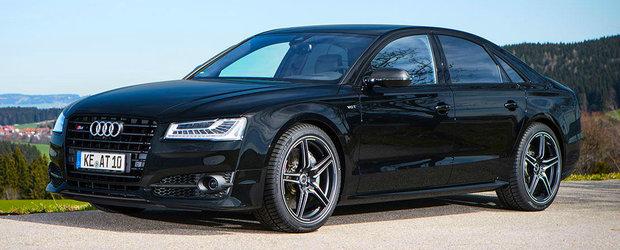 ABT ii injecteaza steroizi Audi-ului S8 si S8 Plus. Multi steroizi
