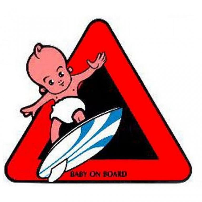 Abtibild Baby On Board Diverse AD 004