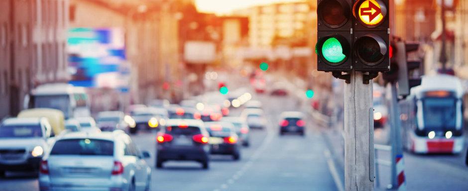 Abuzezi de claxon si semaforul sta mai mult pe rosu. Orasul gigant care a implementat aceasta masura neobisnuita
