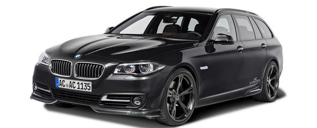 AC Schnitzer modifica noul BMW Seria 5 Facelift