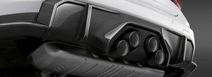 Accesorii M Performance pentru noul BMW M3/M4. Ce spui de niste evacuari suprapuse ca sa mearga cu grila verticala?