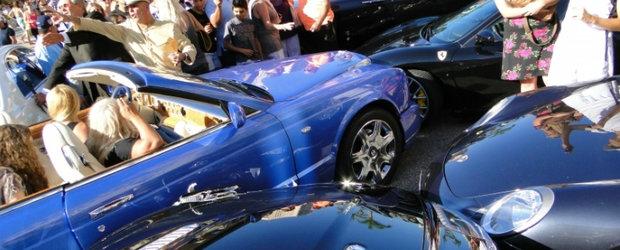 Accident costisitor pe strazile din Monaco
