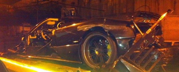 Accident cu Pagani Zonda F - masina, singura victima mortala