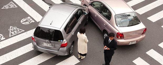 Accident de automobil in Europa: cum reactionezi?