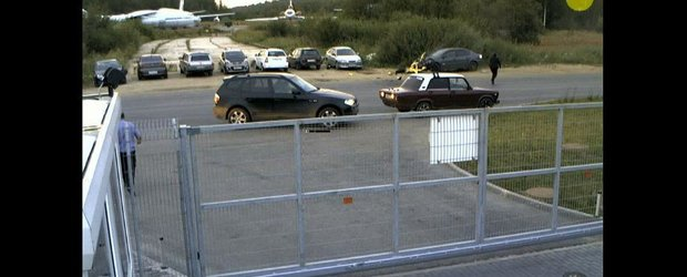 Accident invizibil cu o motocicleta: UITA-TE DE MAI MULTE ORI!