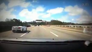 Accident Lamborghini Gallardo