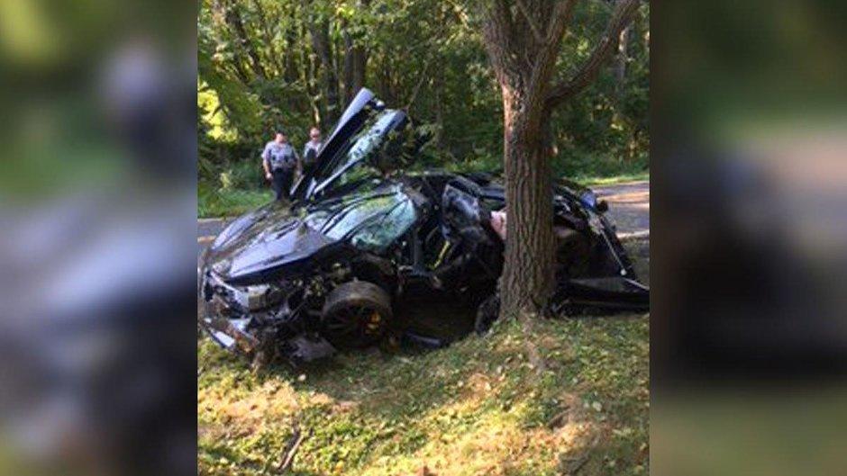 Accident McLaren 720S
