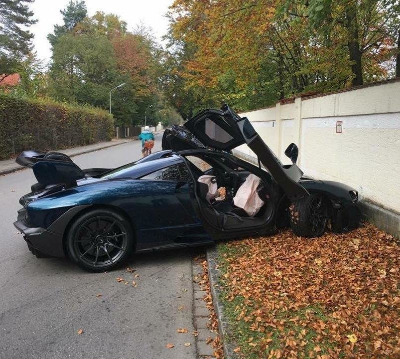 Accident McLaren Senna