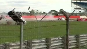 Accident Megane Cup