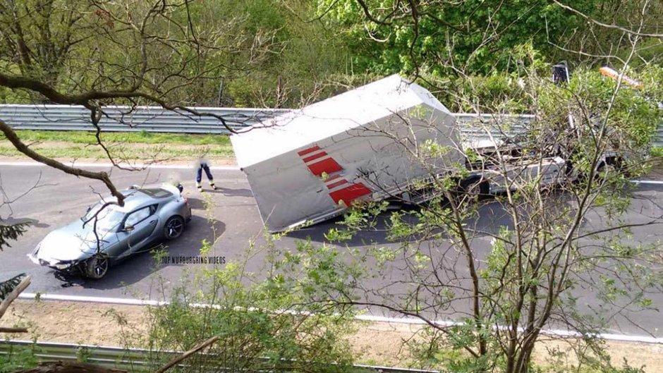 Accident Toyota Supra