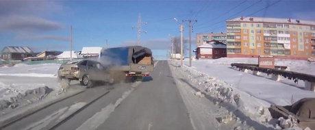 Accidente grave din Rusia: Ce se intampla daca nu respecti regulile de circulatie