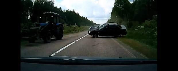 Accidente proaspete din Rusia: compilatie dureroasa cu soferi inconstienti