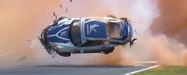 Accidentul unui Porsche 911 GT3 ne arata la ce este bun rollcage-ul