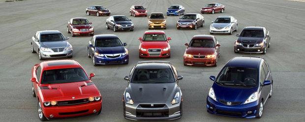 ACEA: Inmatricularile noi de automobile au scazut cu peste 7% in primele 10 luni ale anului