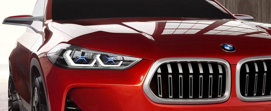 Aceasta ar fi noua masina cu tractiune fata de la BMW. Va debuta oficial in cursul anului viitor, spun zvonurile