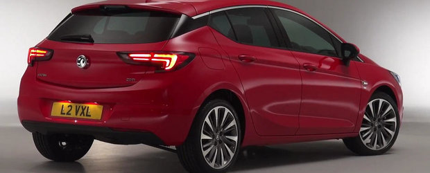 ACEASTA e sansa ta sa admiri in detaliu noul Opel Astra K