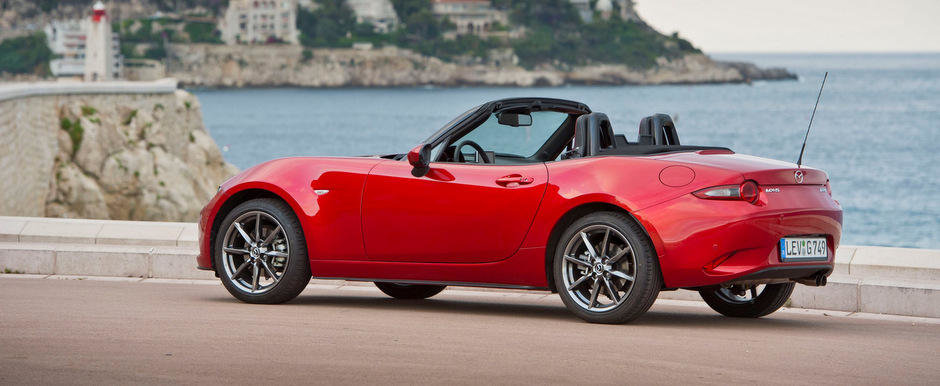 Aceasta e sansa ta sa admiri noua Mazda MX-5 din toate unghiurile si pozitiile