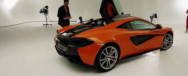 Aceasta e sansa ta sa admiri noul McLaren 570S din toate unghiurile si pozitiile