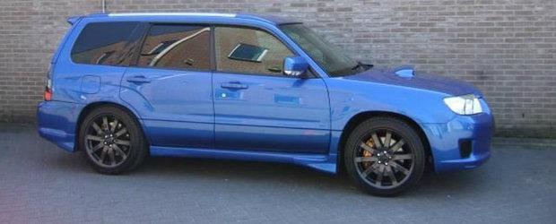 ACEASTA e sansa ta sa cumperi un Subaru Forester STI fara sa mergi in Japonia!
