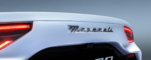 Aceasta este cea mai noua creatie Maserati. Motor V6 cu tehnologie din F1 si 630 CP