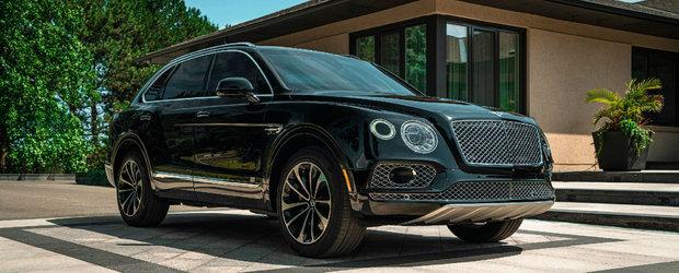 Acest Bentley iti ofera tot luxul din lume...si protectie impotriva gloantelor trase cu un AK-47
