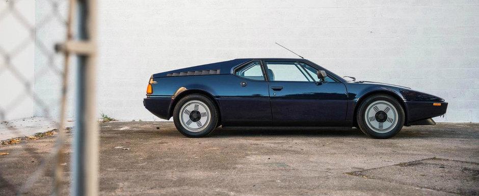 Acest BMW din anul 1981 se vinde astazi la pret de doua Lamborghini-uri noi. POZE REALE cu masina bavareza