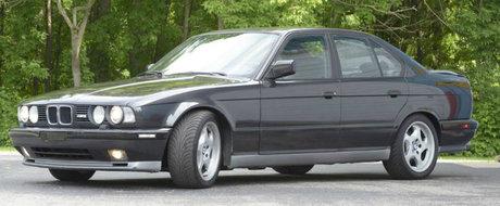 Acest BMW M5 E34 isi cauta un nou proprietar. Adevarata surpriza se afla sub capota