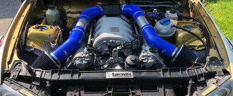 Acest BMW Seria 1 ascunde sub capota un motor V8 AMG. FOTO ca sa te convingi si singur