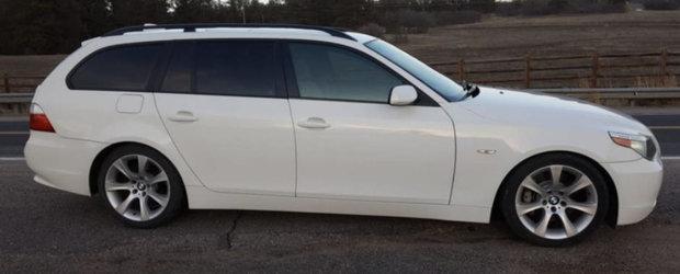 Acest BMW Seria 5 ofera mai multe surprize chiar si decat un ou Kinder. FOTO ca sa te convingi si singur