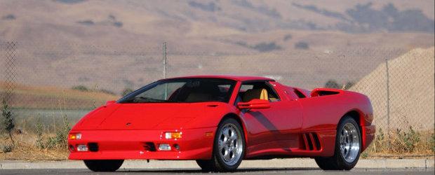 Acest Lamborghini Diablo i-a apartinut unui campion mondial. Uite cat costa azi una dintre cele mai reprezentative masini ale anilor 90