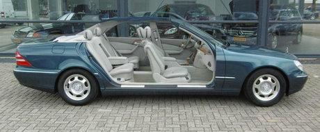 Acest Mercedes a fost vedeta Salonului de la Frankfurt, dar acum se vinde la pret de Dacie SH