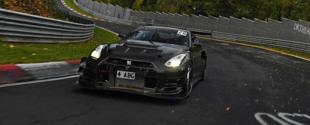 Acest Nissan GT-R de peste 1.000 de cai vrea sa devina cea mai rapida masina de pe Nurburgring