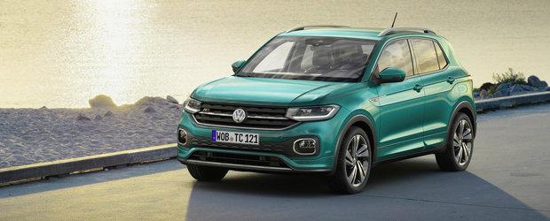 Acesta este cel mai mic SUV din gama Volkswagen. Fa cunostinta cu noul T-Cross